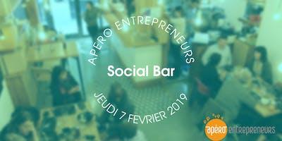 Apéro Entrepreneurs Paris @ Le Social Bar   Jeudi 7 février 2019