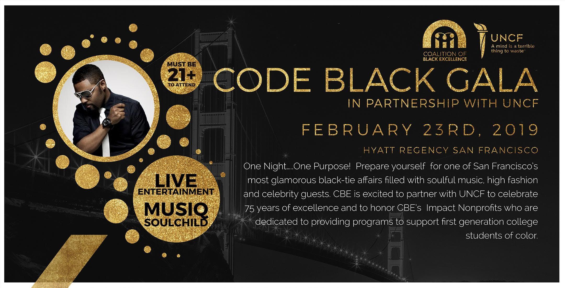 Code Black Gala 2019 at Hyatt Regency San Francisco in San Francisco