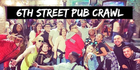 6th Street Pub Crawl tickets