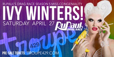 Ivy Winters from RuPaul's Drag Race! // April 27, 2019 at Troupe429 Bar // Norwalk, CT