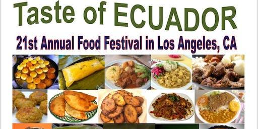21st Annual TASTE OF ECUADOR Food Festival & Parade