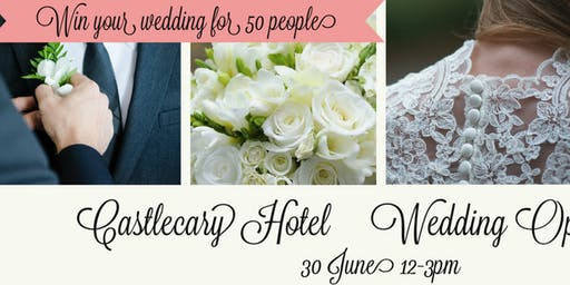 Castlecary Hotel Wedding Open Day