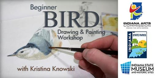 Beginner Bird Drawing & Painting Workshop
