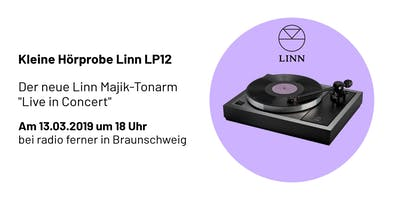 Kleine Hörprobe - Der neue Linn LP12 - Live hören und erleben