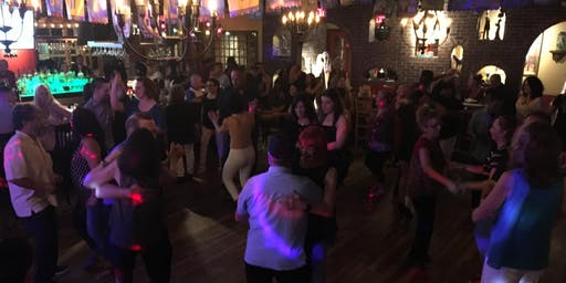 Free Salsa and Bachata Group Class and Dancing at Margaritas Restaurant