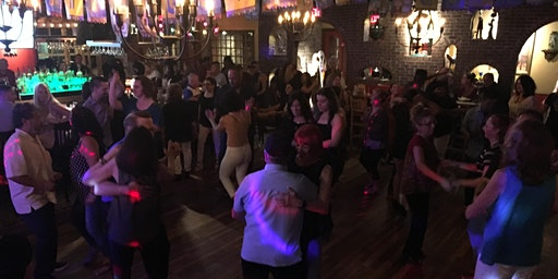 Free Salsa and Bachata Group Class and Dancing at Margaritas Restaurant