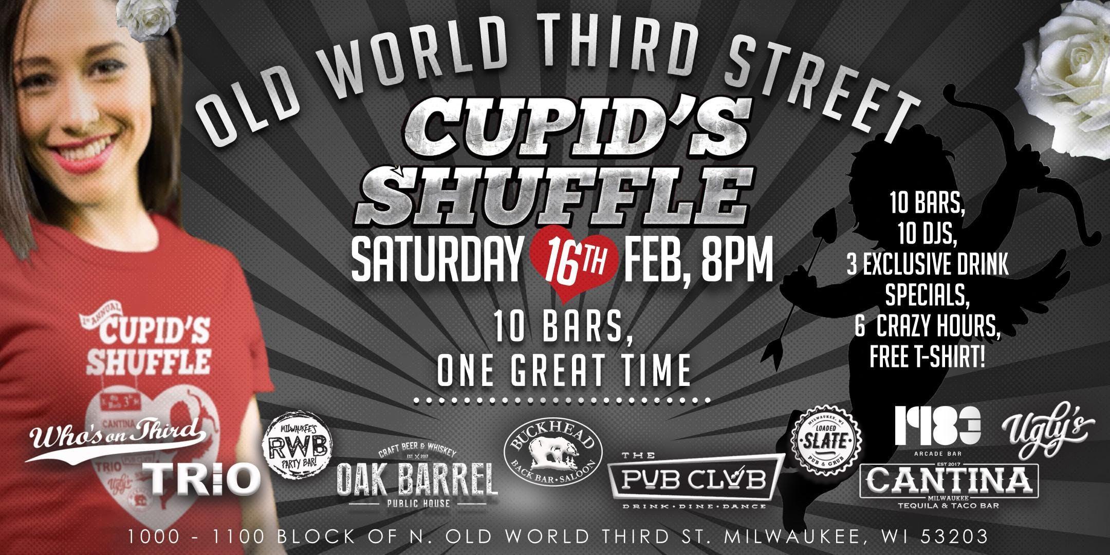 "Old World Third Street ""Cupid's Shuffle"""