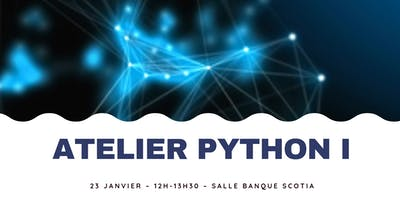 Atelier Python I