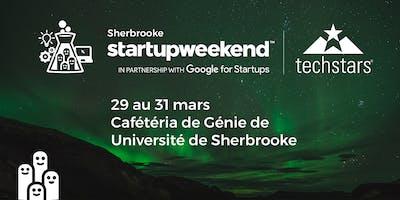 Techstars Startup Weekend Sherbrooke 03/19