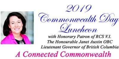 Commonwealth Day Luncheon 2019