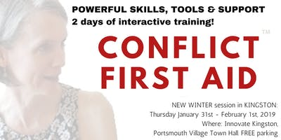 CONFLICT FIRST AID™ Training - Orillia! Offer or Get Solid, SAFE Support