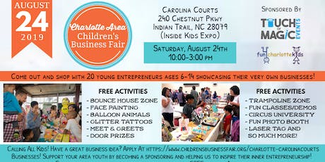 Charlotte Area Children's Business Fair tickets
