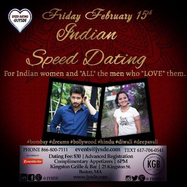 indian speed dating boston