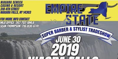 MAJOR LEAGUE BARBER EMPIRE STATE NIAGARA FALLS TRADESHOW