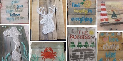 Stone & Pallet™ by Recycled Granite Tidewater: Eco-Art made by YOU!