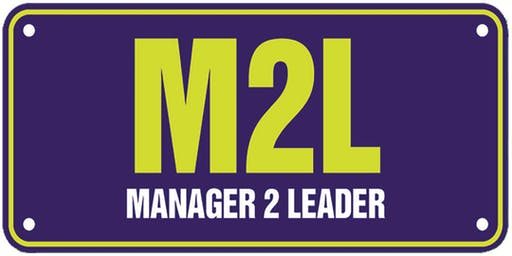 Manager 2 Leader Workshop, 19 September 2019