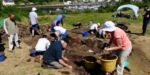 Our Castle of Kings : Community Archaeological Dig
