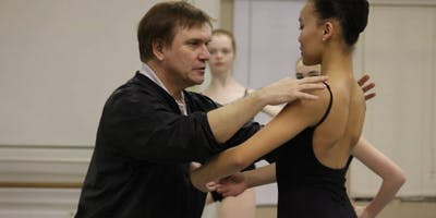 Character Dance Masterclass with World renown Valery Lantratov