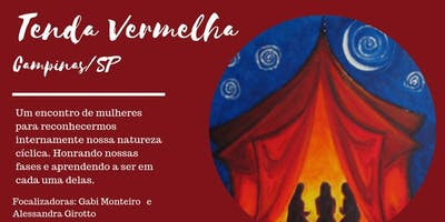 Tenda Vermelha - Círculo de Mulheres - Campinas/SP