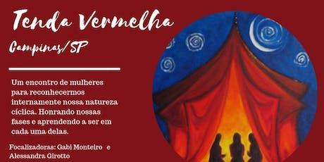 Tenda Vermelha - Círculo de Mulheres - Campinas/SP ingressos