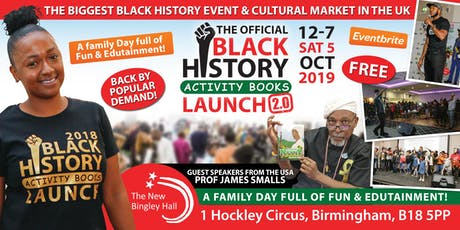 Black History Activity Book Launch 2.0 tickets