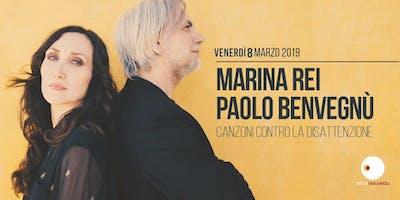Marina Rei e Paolo Benvegnù live al Retronouveau