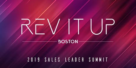 Rev it Up - Sales Leader Summit - Boston / Waltham tickets