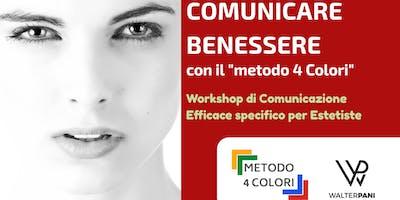 Comunicare Benessere - workshop di Comunicazione Efficace per Estetiste
