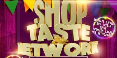 Shop, Taste, & Network Vendor Event