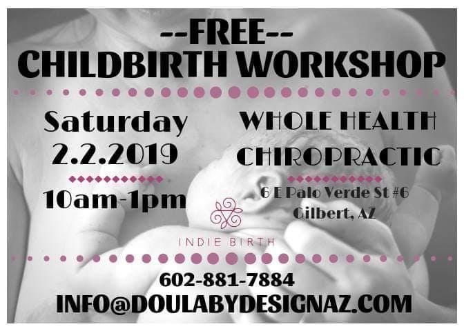 Free Childbirth workshop