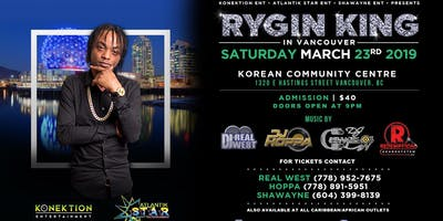 Dancehall's Newest Star RYGIN KING Live In Vancouver