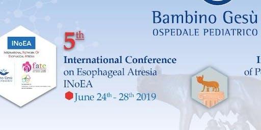 V Incontro Annuale delle Famiglie con Atresia dell'Esofago (F.AT.E.) e Conferenza internazionale sull'Atresia Esofagea (INoEA) – Roma, 27-29 Giugno 2019