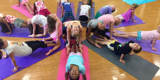 Yoga, Hip Hop and Art Camp 7/22 ages 6-8