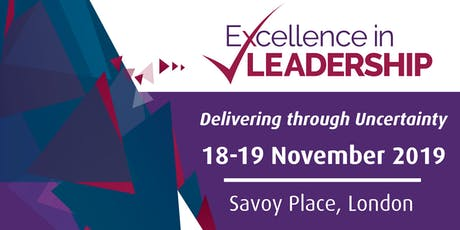Excellence in Leadership: Delivering Through Uncertainty tickets
