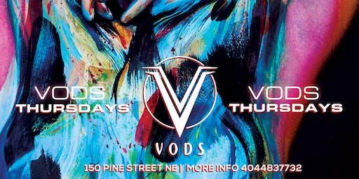 THURSDAYS @ VODS | EVERYONE FREE