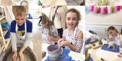 Fun with clay - Childrens pottery workshops.