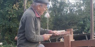 Wood Turning on the Pole Lathe