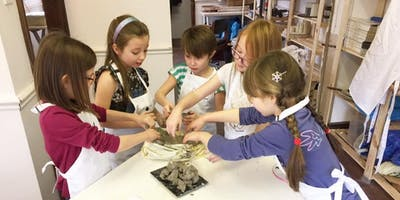 Childrens half term workshops - Pottery and crafts.