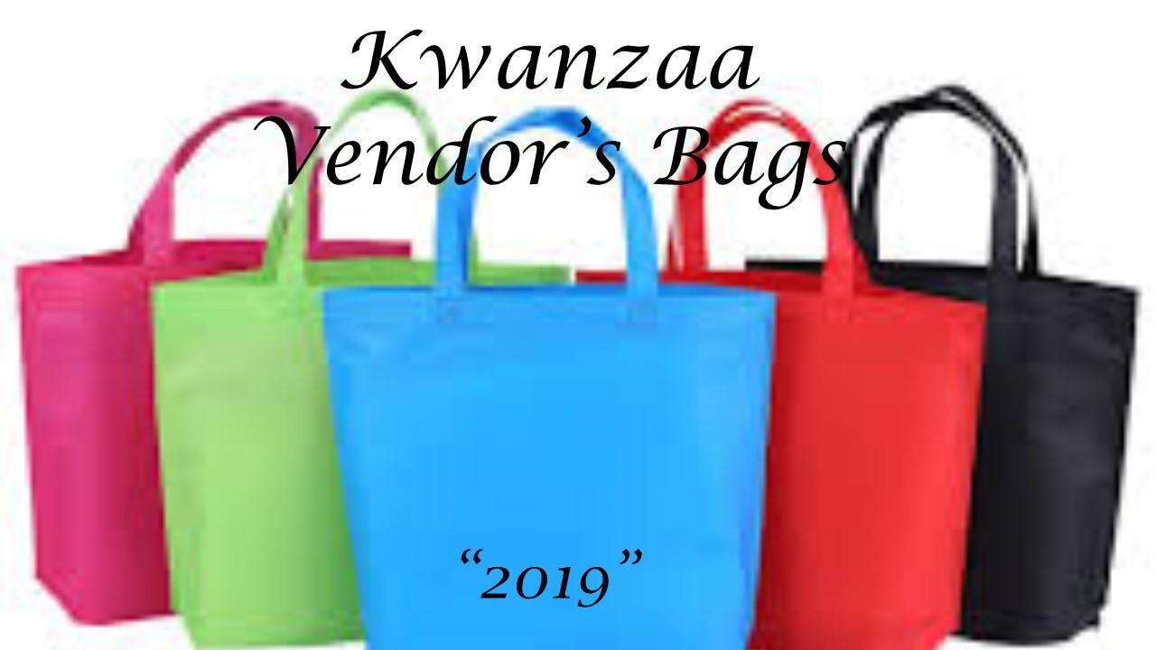 Kwanzaa Vendor Bag