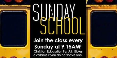 Reaching To Teach: Sunday School (Sundays at 9:15AM) tickets