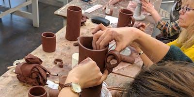 Adult pottery workshop - Morning.