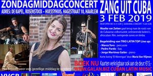 Zang Uit Cuba met Maaike van Zetten zang, Marco Toro -...