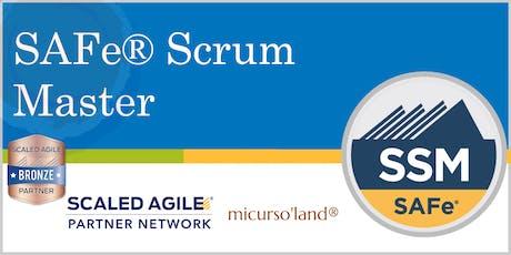 SAFe® Scrum Master, con Certificación SSM boletos