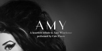 AMY - A Heartfelt Tribute to Amy Winehouse with Cate Fierro