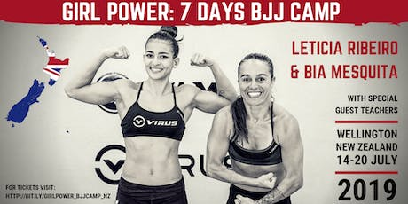 Girl Power - 7 days BJJ Camp with Leticia Ribeiro & Bia Mesquita tickets