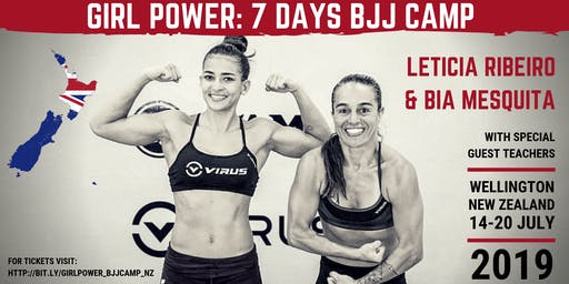 Girl Power - 7 days BJJ Camp with Leticia Ribeiro & Bia Mesquita