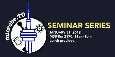 MicrobeTO Seminar Series: January 2019
