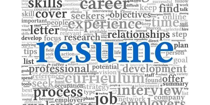 Resume Workshop 2019