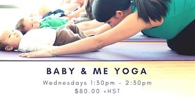 Baby and Me Yoga