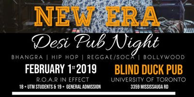 New Era UTM Desi Pub Night